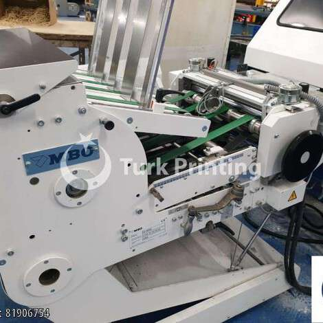 Used MBO K760E S-KTL/4 Folding Machine year of 2016 for sale, price ask the owner, at TurkPrinting in Folding Machines