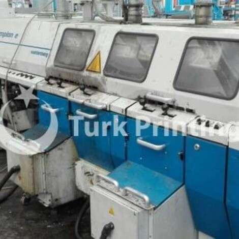 Used Wohlenberg Champion E complete perfect binding line year of 2005 for sale, price ask the owner, at TurkPrinting in Perfect Binding Machines
