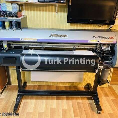 Used Mimaki CJV30-100BS Printer Cutter year of 2012 for sale, price 38000 TL EXW (Ex-Works), at TurkPrinting in Large Format Digital Printers and Cutters (Plotter)
