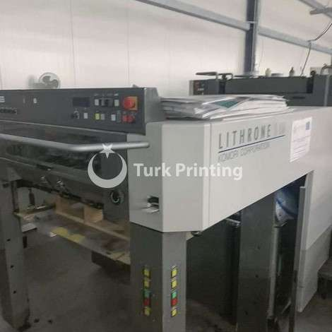 Used Komori Lithrone LS429 Offset Printing Press year of 2006 for sale, price ask the owner, at TurkPrinting in Used Offset Printing Machines