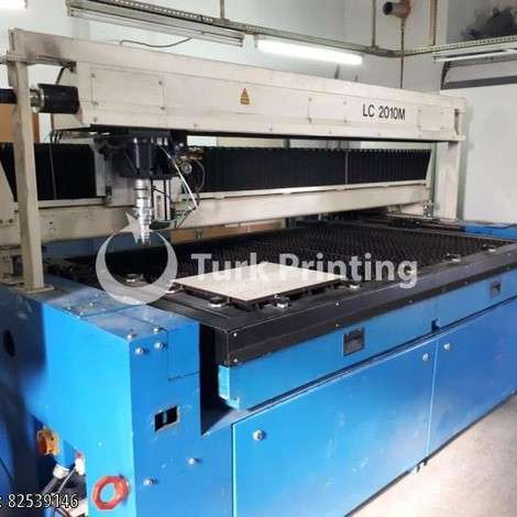 Used Coherent - Rofin Sinar Laser cutting machine included a chiller year of 2002 for sale, price 45000 EUR EXW (Ex-Works), at TurkPrinting in CNC Router and CNC Cutting Machines