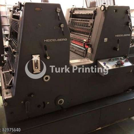 Used Heidelberg GTOZ-52 Offset Machine year of 1990 for sale, price 6500 EUR FCA (Free Carrier), at TurkPrinting in SheetFed Offset Printing Machines