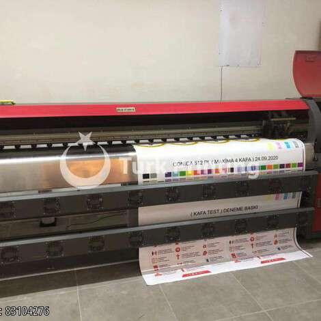 Satılık ikinci el 2012 model Maxima Dijital baskı makinası, fason görmemiş çok temiz 25000 TL EXW (Ex-Works) TürkPrinting'de! Geniş Format Dijital Baskı Makinaları ve Kesiciler (Plotter) kategorisinde.