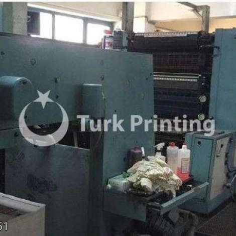 Used Man-Roland FAVORİT 4 COLOR OFFSET PRINTING PRESS year of 1987 for sale, price 115000 TL EXW (Ex-Works), at TurkPrinting