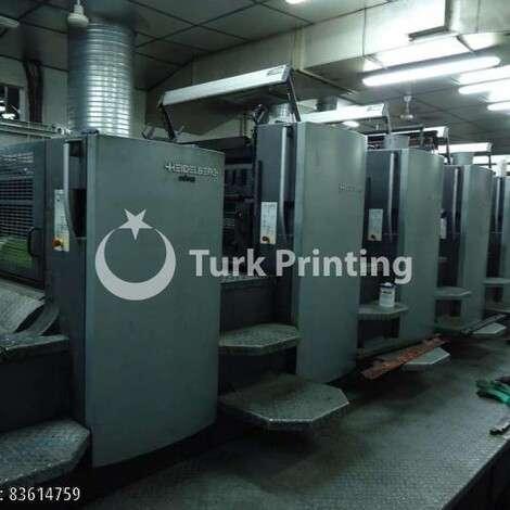 Satılık ikinci el 2004 model Heidelberg CD 102-6 + Lak Ofset Matbaa Makinesi (Hibrit Makina) fiyat sorunuz TürkPrinting'de! Ofset Baskı Makinaları kategorisinde.