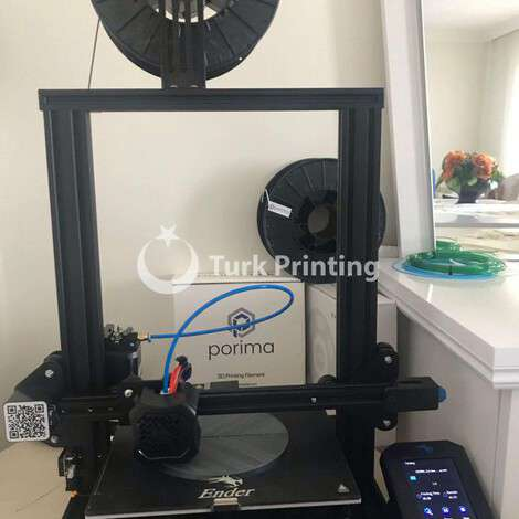 Used Creality Ender 3 V2 like new year of 2021 for sale, price 2200 TL FCA (Free Carrier), at TurkPrinting in 3D Printer