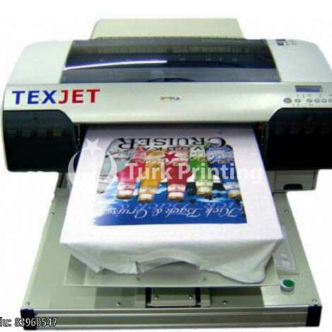 Used Polyprint Texjet T-shirt Printing Machine Epson 4880 year of 2012 for sale, price 25000 TL, at TurkPrinting in T Shirt Printing Machine