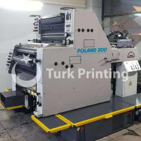 Used Man-Roland 202 TOB Offset Priting Press year of 1998 for sale, price ask the owner, at TurkPrinting in Used Offset Printing Machines