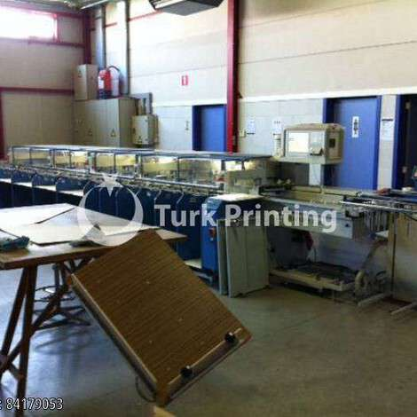 Used MKW Rapid UT/B3/GS Duplex Stitcher SFT 350 year of 2007 for sale, price ask the owner, at TurkPrinting in Collators Machines