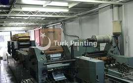 V38 CONTINUOUS FORM PRINTING MACHINE + COLLATOR (NUMBER) MACHINE