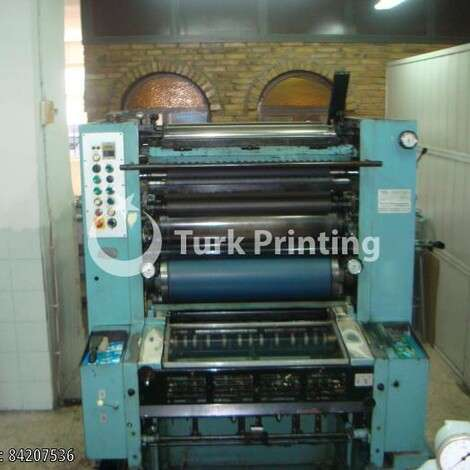 Used Man-Roland ONE COLOUR OFFSET PRINTING PRESS year of 1974 for sale, price ask the owner, at TurkPrinting in Used Offset Printing Machines