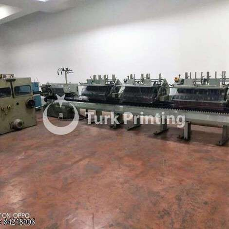 Used Muller Martini 1509 Saddle Stitching Machine year of 1996 for sale, price ask the owner, at TurkPrinting in Saddle Stitching Machines