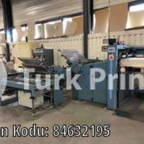 Used MBO TS72-FP76/120 Folding Machine, Year 1996 year of 1996 for sale, price ask the owner, at TurkPrinting in Folding Machines