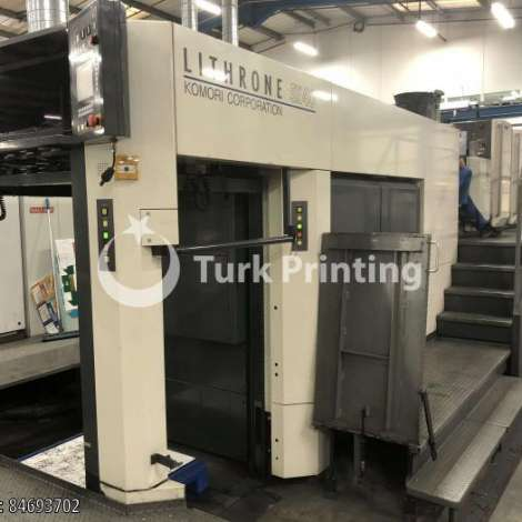 Used Komori LSX-640+CX HYBRID IR & UV DRYING - 2010 year of 2010 for sale, price ask the owner, at TurkPrinting in Used Offset Printing Machines