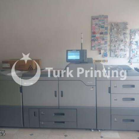 Used Ricoh PRO C751 DIGITAL PRINTING MACHINE year of 2015 for sale, price 175000 TL EXW (Ex-Works), at TurkPrinting in High Volume Commercial Digital Printing Machine
