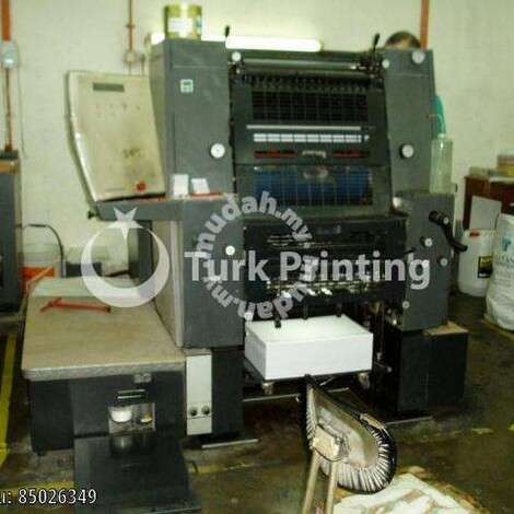 Used Heidelberg GTO PRINTING MACHINES & CUTTER year of 1999 for sale, price ask the owner, at TurkPrinting in Used Offset Printing Machines