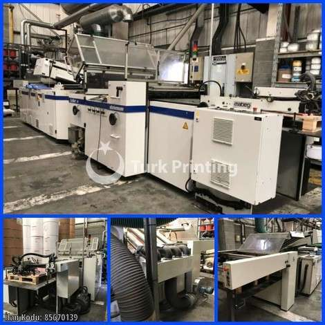 Used Steinemann COLIBRI 74 COATING LINE year of 2006 for sale, price ask the owner, at TurkPrinting in Laminating - Coating Machines
