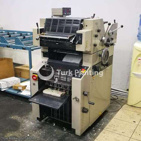 Used Ryobi 2 COLOR CONTINUOUS FORM PRINTING MACHINE year of 1996 for sale, price 3500 EUR, at TurkPrinting in Continuous Form Printing Machines