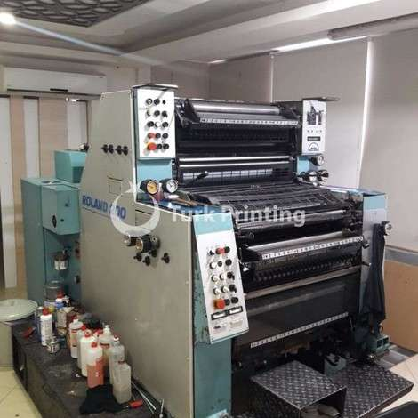 Used Man-Roland 202 Offset Printing Press year of 1992 for sale, price 120000 TL EXW (Ex-Works), at TurkPrinting in Used Offset Printing Machines