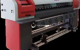1.8m/ 3.2m Small DX5 Printhead Eco Solvent Printer