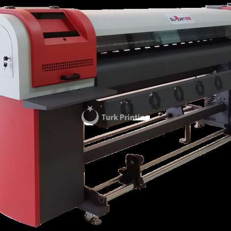 Used Flyjet 1.8m/ 3.2m Small DX5 Printhead Eco Solvent Printer year of 2017 for sale, price ask the owner, at TurkPrinting in Large Format Digital Printers and Cutters (Plotter)