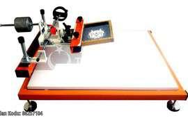 New screen printing machine