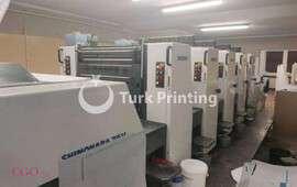 75 V 5 color offset printing press