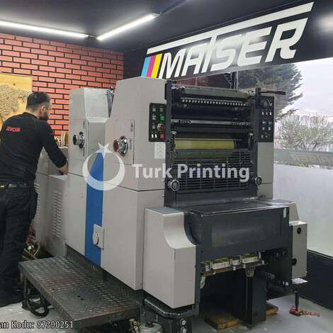 Used Ryobi 522 H Offset Printing Machine year of 2011 for sale, price 50000 TL EXW (Ex-Works), at TurkPrinting in Used Offset Printing Machines