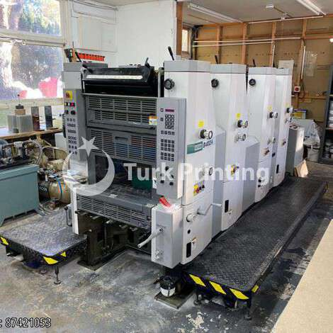 Used Hamada B452A-I year of 2001 for sale, price ask the owner, at TurkPrinting in Used Offset Printing Machines