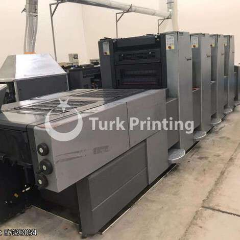 Used Heidelberg Speedmaster 52-4 L UV with IST dryer year of 2003 for sale, price 180000 USD C&F (Cost & Freight), at TurkPrinting in Used Offset Printing Machines