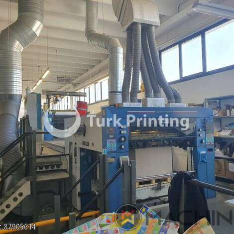 Used KBA Koenig & Bauer Rapida 142-4 LV, CX year of 2001 for sale, price ask the owner, at TurkPrinting in Used Offset Printing Machines