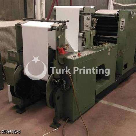 Used Muller Martini GRAPHA STANDARD year of 1986 for sale, price 30000 EUR FOT (Free On Truck), at TurkPrinting in Continuous Form Printing Machines