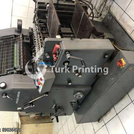Used Heidelberg GTO NP year of 1992 for sale, price ask the owner, at TurkPrinting in Used Offset Printing Machines