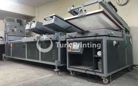 semi-automatic 4/3 screen printing machine
