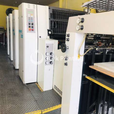 Used Man-Roland Complete printing house year of 1997 for sale, price ask the owner, at TurkPrinting in Used Offset Printing Machines