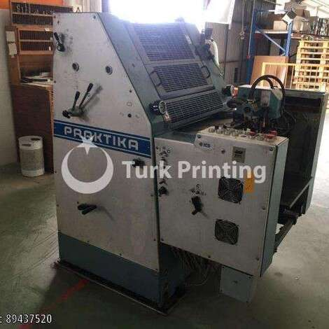 Used Man-Roland PRAKTIKA 00 OFFSET PRINTING PRESS year of 1987 for sale, price ask the owner, at TurkPrinting in Used Offset Printing Machines