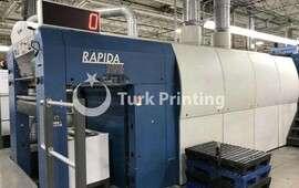 Rapida 106-10-SW1+L-ALV3 Ofset Matbaa Makinesi
