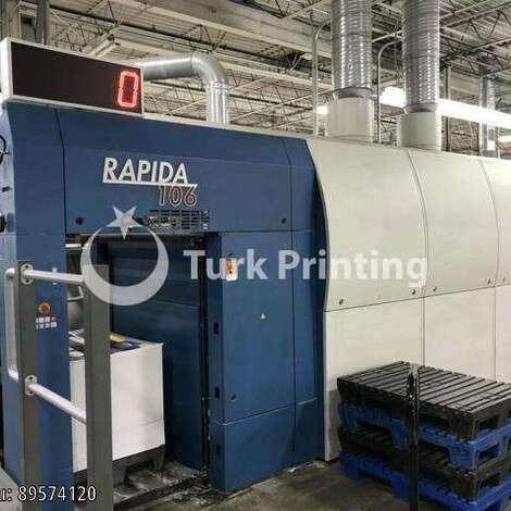Used KBA Koenig & Bauer Rapida 106-10-SW1+L-ALV3 Printing Press year of 2010 for sale, price ask the owner, at TurkPrinting in Used Offset Printing Machines