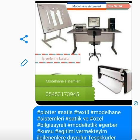 plotter Dijital textile model systems