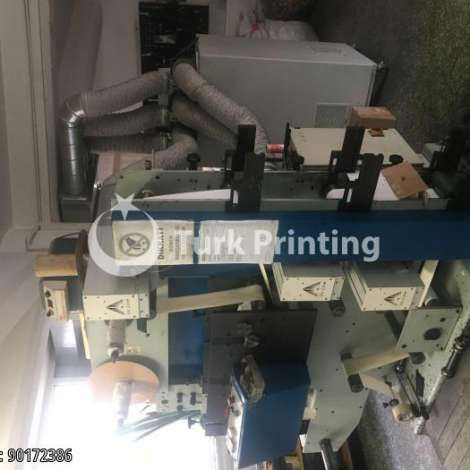 Used Sancak Makina 3 Color UV C Drying Flexo Label Printing Machine year of 2006 for sale, price 52000 USD FCA (Free Carrier), at TurkPrinting in Flexo and Label Printing Machines