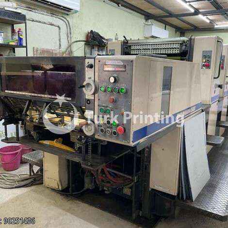 Used Shinohara 66 IV year of 1993 for sale, price ask the owner, at TurkPrinting in Used Offset Printing Machines