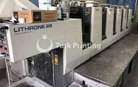Lithrone 528 ofset makinesi