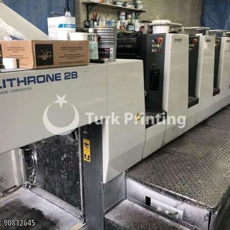 Used Komori Lithrone 528, 2004 (straight 5 colour offset) year of 2004 for sale, price 150.000 EUR FCA (Free Carrier), at TurkPrinting in SheetFed Offset Printing Machines
