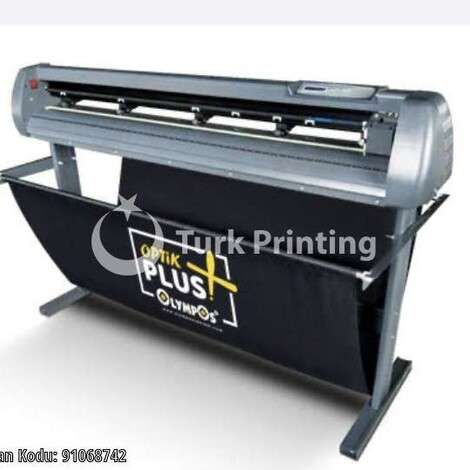 Used Olympos 120cm optical eyed cutter plotter year of 2018 for sale, price ask the owner, at TurkPrinting in Large Format Digital Printers and Cutters (Plotter)