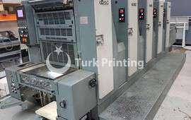 GH-525 beş renkli ofset baskı makineleri