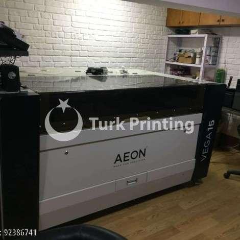Satılık ikinci el 2018 model Aeon Vega 15 Lazer Kesim Makina, Temiz 4 ay Kullanılmış 55000 TL TürkPrinting'de! CNC Router ve Lazer Kesim Makinası kategorisinde.