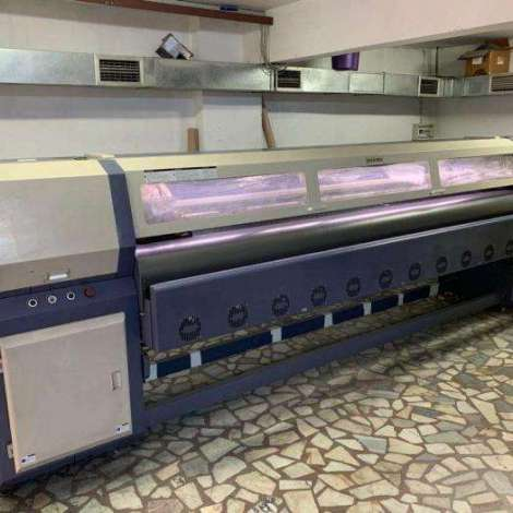 Used Maxima 8 HEADS DIGITAL PRINTING MACHINE year of 2014 for sale, price 24000 USD, at TurkPrinting in Large Format Digital Printers and Cutters (Plotter)