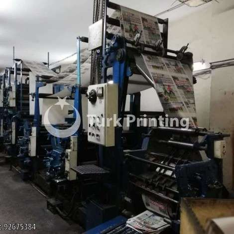 Used Goss Community Web offset printing machine year of 1974 for sale, price 200000 USD EXW (Ex-Works), at TurkPrinting in Coldset Web Offset Printing Machines