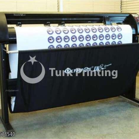 New Olympos LX8 Plotter Foil Cutter year of 2021 for sale, price ask the owner, at TurkPrinting in Large Format Digital Printers and Cutters (Plotter)