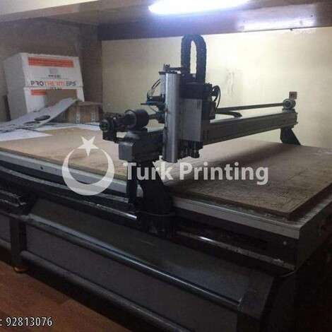 Used Roland DG 210x366cm CNC ROUTER year of 2010 for sale, price 39500 TL, at TurkPrinting in CNC Router Machines